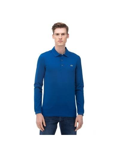 Lacoste Erkek Uzun Kollu Tişört PH4010P.Z7Z Mavi
